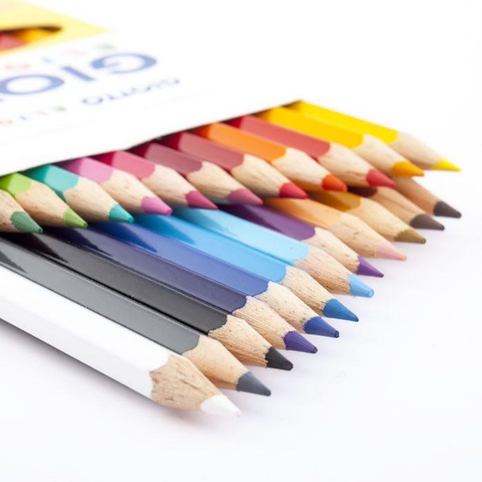 مداد رنگی ۲۴ رنگ جیوتو مدل Elios