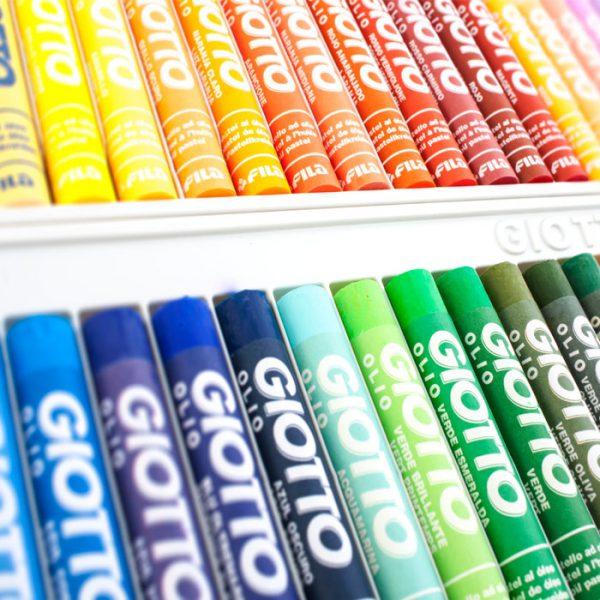 پاستل روغنی ۴۸ رنگ جیوتو مدل Olio