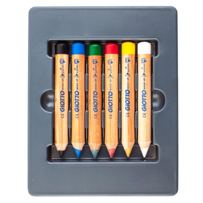 قرص گریم ۶ رنگ جیوتو مدل براق