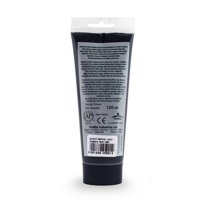 Mars Black Fevicryl Acrylic-2