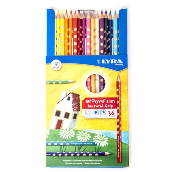 مدادرنگی لیرا ۳۶ رنگ