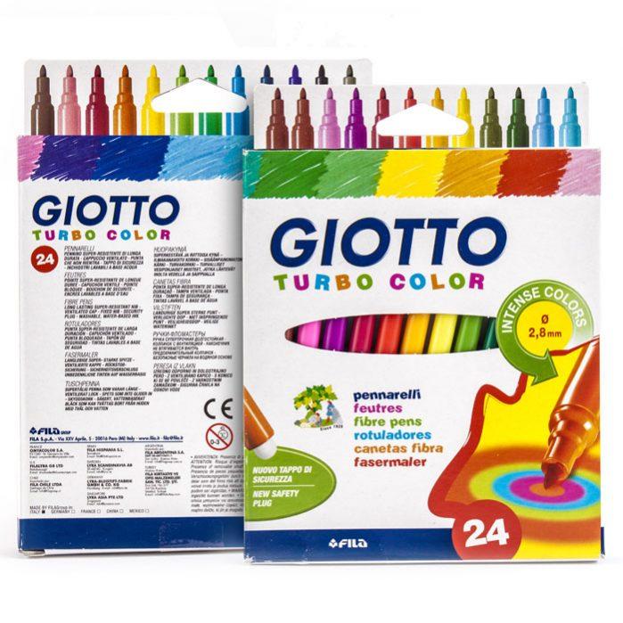 Giotto Turbo Color 24 Colors-2