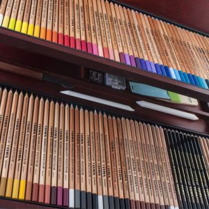 مداد رنگی 100 رنگ حرفه ای