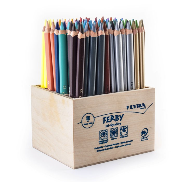 مداد متالیک سوپر فربی-مداد رنگی متالیک
