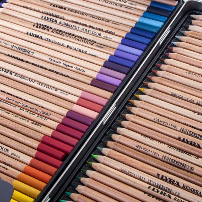 REMBRANDT PolyColor Pencils 72 Colors-5