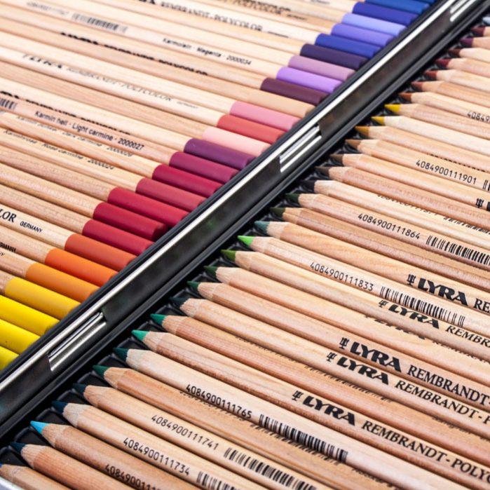 REMBRANDT PolyColor Pencils 72 Colors-6