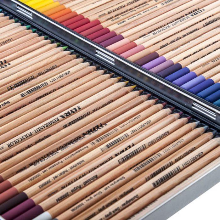 REMBRANDT PolyColor Pencils 72 Colors-7