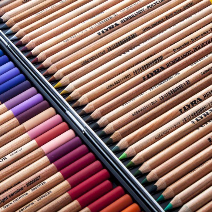REMBRANDT PolyColor Pencils 72 Colors-8